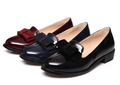 Plus Size 34 43 New 2016 Ladies Casual Comfortable Flat Heel Bow Knot Round Toe Slip
