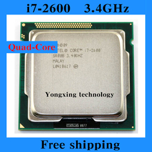 Core i7 2600 3.4GHz 8M SR00B Quad Core Eight threads desktop processors Computer CPU Socket LGA 1155 pin