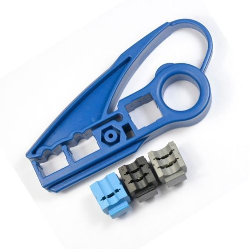 New Cat 5e Cat 6 Cable Utp Stripper Tool Ideal For Coax NIB(China (Mainland))