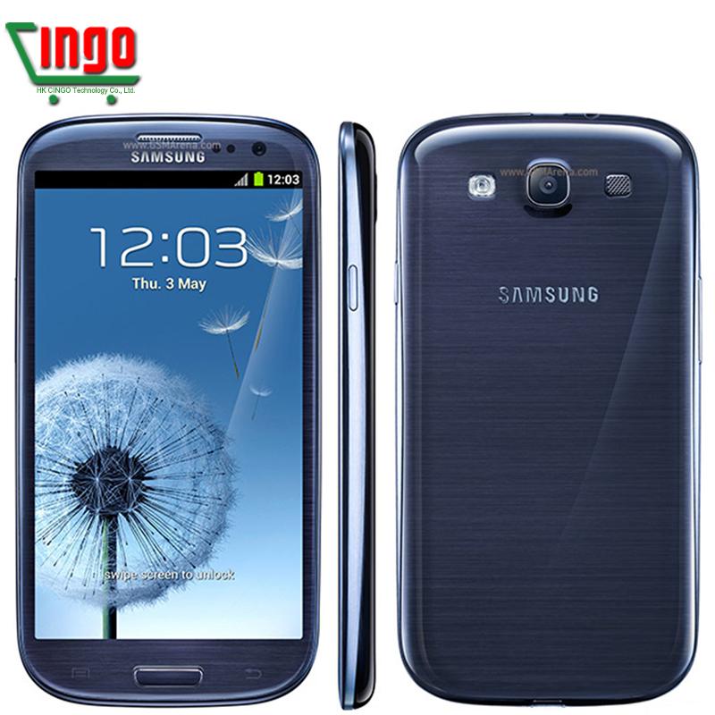 Samsung Galaxy S3 I9300 Original CellPhone Android 4.0 Quad Core 1GB RAM 16GB 8MP Camera 4.8 inches Galaxy SIII Refurbished(China (Mainland))