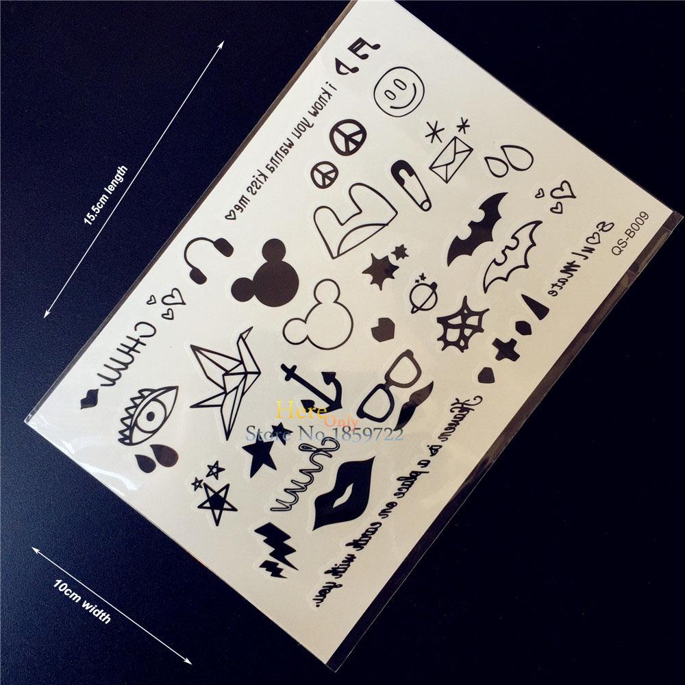 рисунки татуировок детей