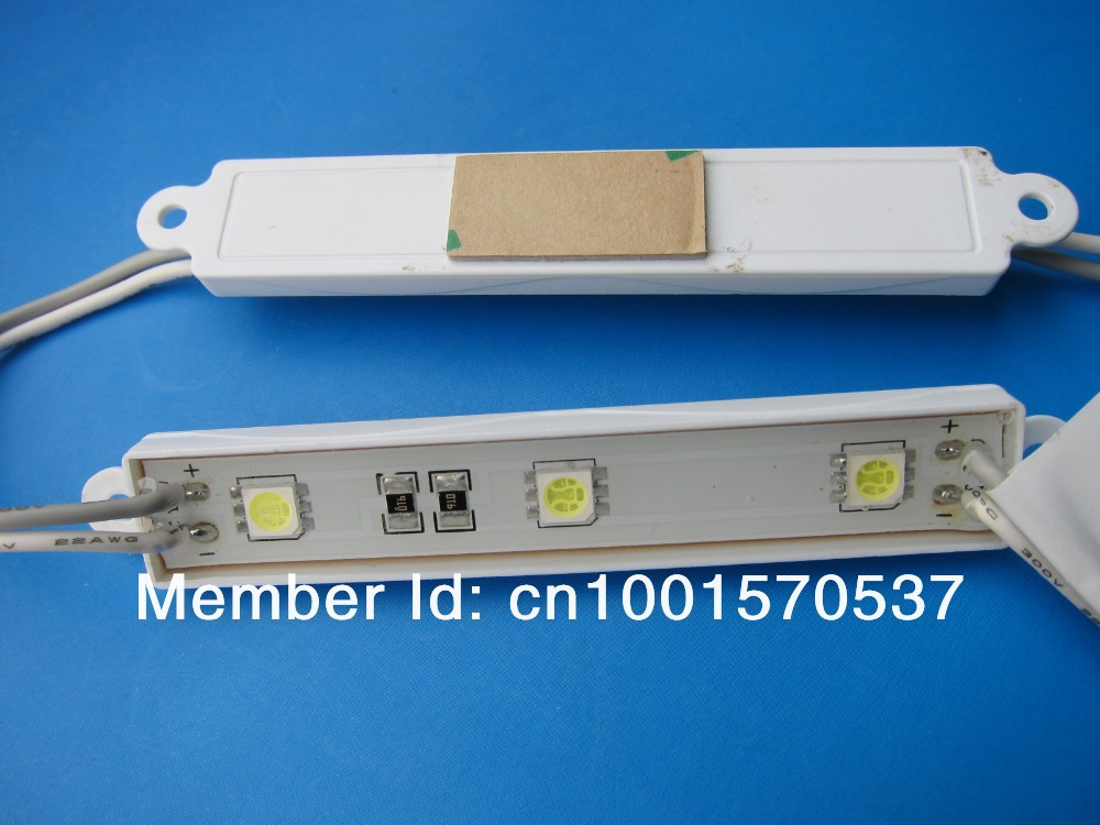 IP67, UL listed 5050 SMD LED Module, Ultra Bright, PVC Housing, 5 years guarantee for led sign lighting RED(China (Mainland))