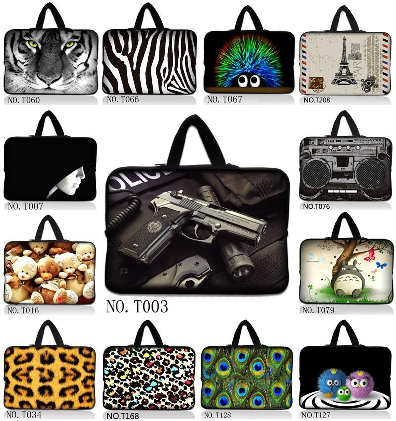 """Many Designs 10"""" Laptop Carrying Sleeve Bag Case For 10.1 ASUS Eee Pad TF10 Tablet PC Sony HP(China (Mainland))"""