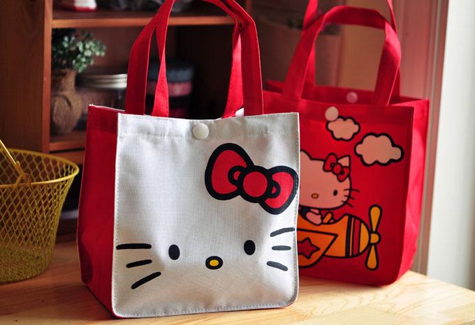 Bolsa De Ombro Hello Kitty : Hello kitty lunch bag picnic pcs lot free