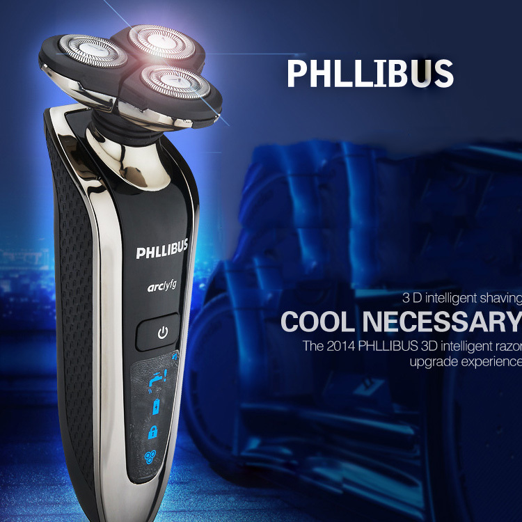 3D men shaver Rechargeable Electric Shaver 2015 Mens electric SHAVER head for Philips Technology razor Q8508 Shaving for man<br><br>Aliexpress