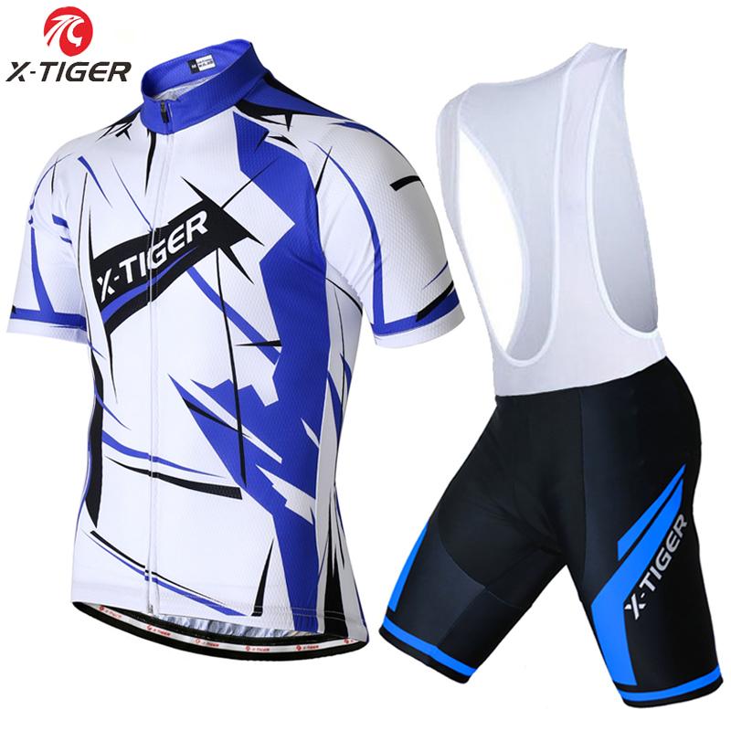 X-Tiger Thaddeus Pro Cycling Clothing/Cycle bicycle Clothes Ropa Ciclismo/Rock Racing MTB Bike uniform/maillot Cycling Jerseys(China (Mainland))