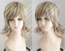 Light gray linen golden tail turn Alice short hair(China (Mainland))
