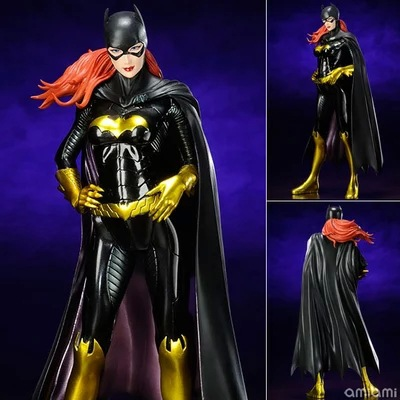 (3pcs/pack) Free Shipping Wholesale Brand New DC Cartoon Action Figure Toys Batgirl 25cm PVC Classical Figure Model Toy<br><br>Aliexpress