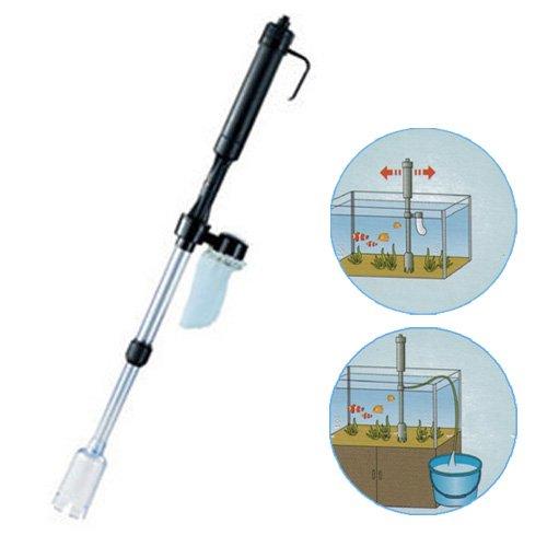S5Y Aquarium Fish Tank Vacuum Syphon Auto Gravel Water Filter Cleaner Washer New