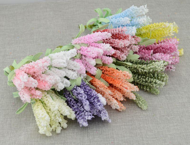 Lavande couronne promotion achetez des lavande couronne for Bouquet de fleurs pas cher livraison gratuite
