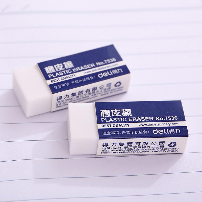 Free shipping deli 7536 eraser rubber eraser white small rubber<br><br>Aliexpress