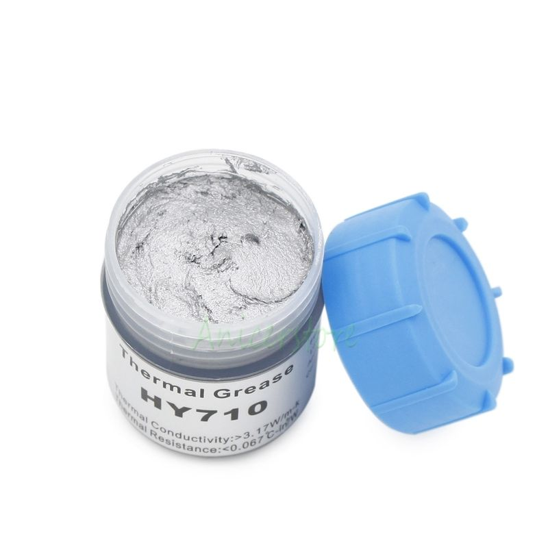 20g Silver Compound thermal conductive Silicone grease paste for CPU VGA LED Chipset and other PC components Chipset Cooling(China (Mainland))