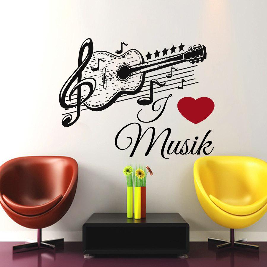 Achetez en gros d coration murale note de musique en ligne for Decoration murale note de musique