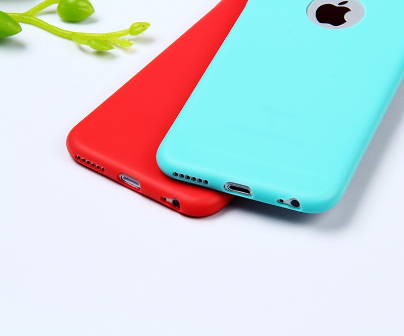 Cute Candy Color Case For iPhone 5 5S SE Cover Soft Silicone Back Skin Phone Bag Coque For i Phone 5 5S Cases Protective Shell