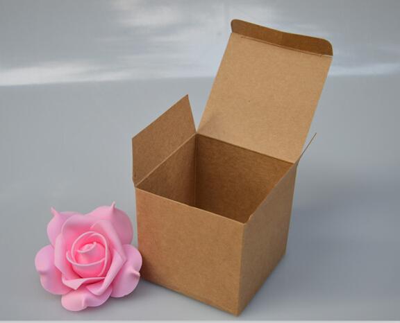 Size:5*5*5cm , kraft cardboard box , recycle cardboard boxes , box cardboard(China (Mainland))