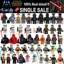 Single Sale Star Wars Minifigures Darth Vader PG633 Maul Lightsaber Yoda Sith with Weapon Building Block Collection Gift Toys(China (Mainland))