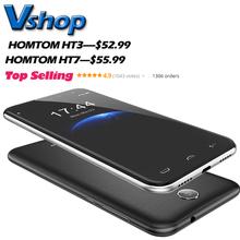 HOMTOM HT3 HT7 3 Г WCDMA Смартфон Android 5.1 MTK6580 Quad Core RAM 1 ГБ ROM 8 ГБ Смартфон Поддержка разблокировать Dual SIM