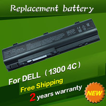Laptop Battery 312-0365 CGR-B-6E1XX HD438 TD429 TT720 XD184 UD535 WD416 FOR Dell YD120 For Inspiron 1300 B120 120L