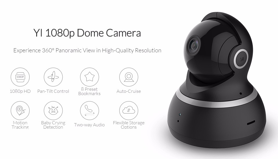 1080P Xiaomi YI Dome Home Camera (1)