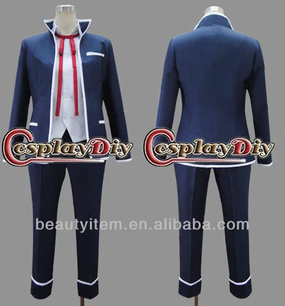 Isana Yashiro Japanese School Uniform for Boy from K Cosplay Costume