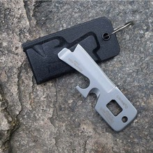 EDC Camping 5 in1 Pocket Survival Tool Screw Driver , Safety Belt Cutter, Opener,Multi function outdoor survival tool