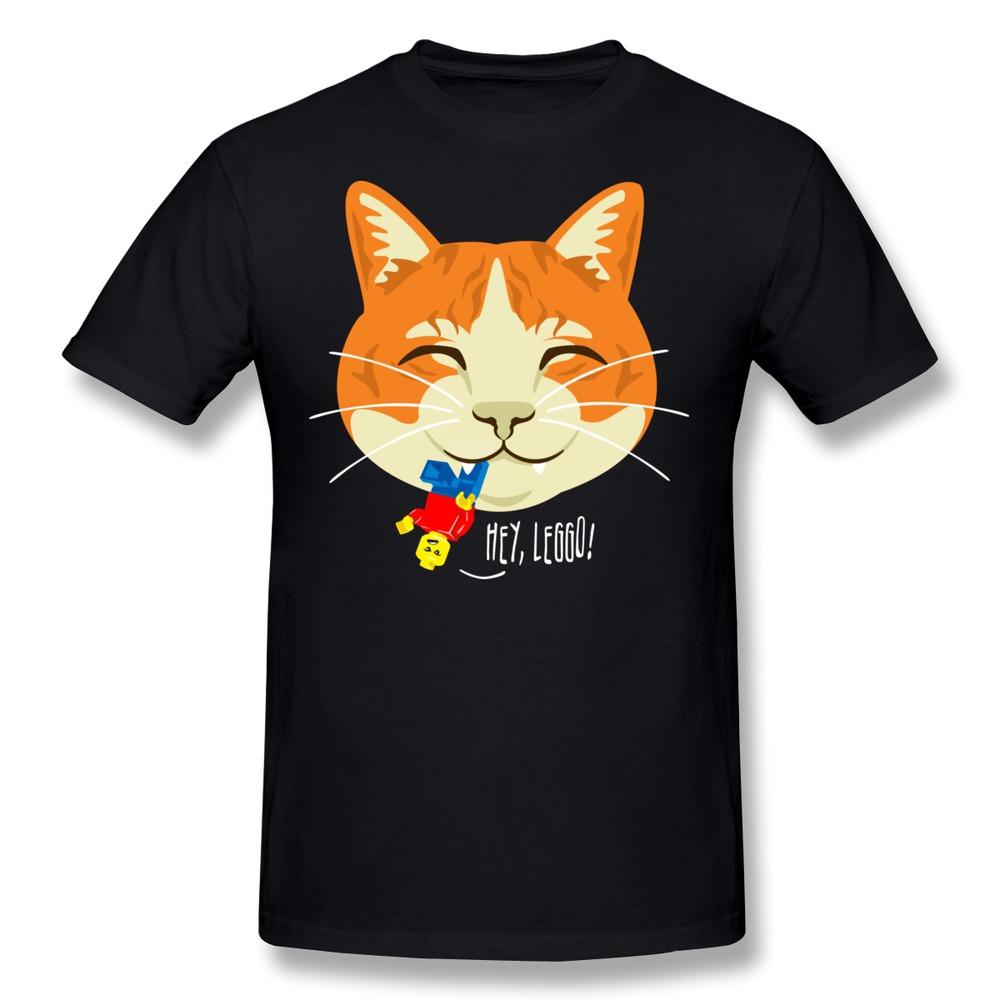 Customize Pre-Cotton T-Shirt Men Hey Leggo Cool Photo Men T-Shirts 1pcs Free Shipping(China (Mainland))