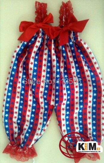 free shipping wholesale 4th of July Petti Bubble Knickers candy color chevron design baby satin romper/ jumpsuit with straps<br><br>Aliexpress