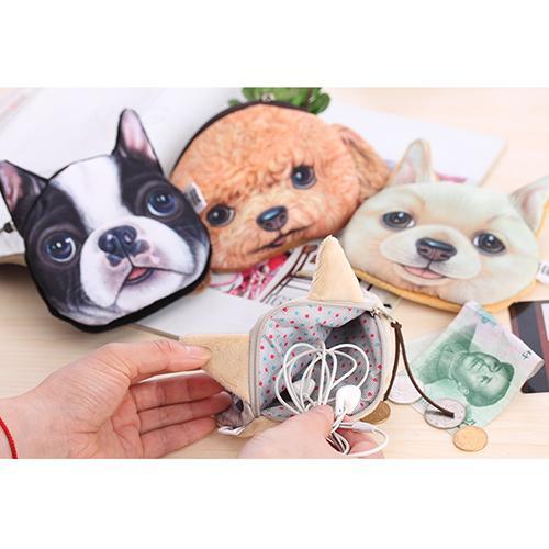 New Fashion Cute Kids Children Dog Cartoon Coin Purse Bag Pouch Wallet Hot Free Shipping Good Quality<br><br>Aliexpress