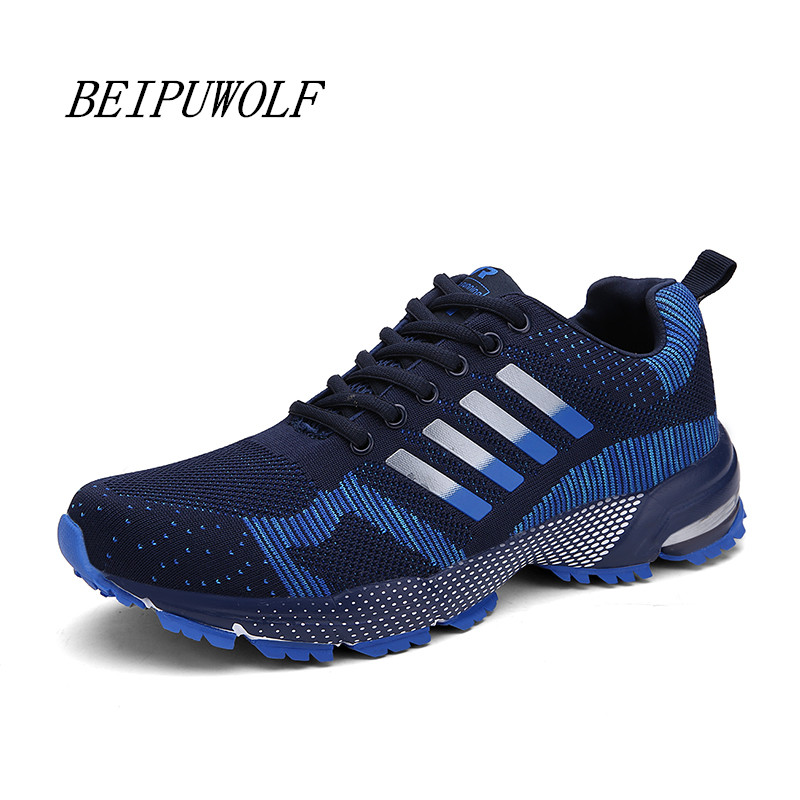 2016 Cool Men and Women's Running Shoes Breathable Outdoor Athletic Jogging Shoes for Couples Light Weight Sports Sneakers(China (Mainland))