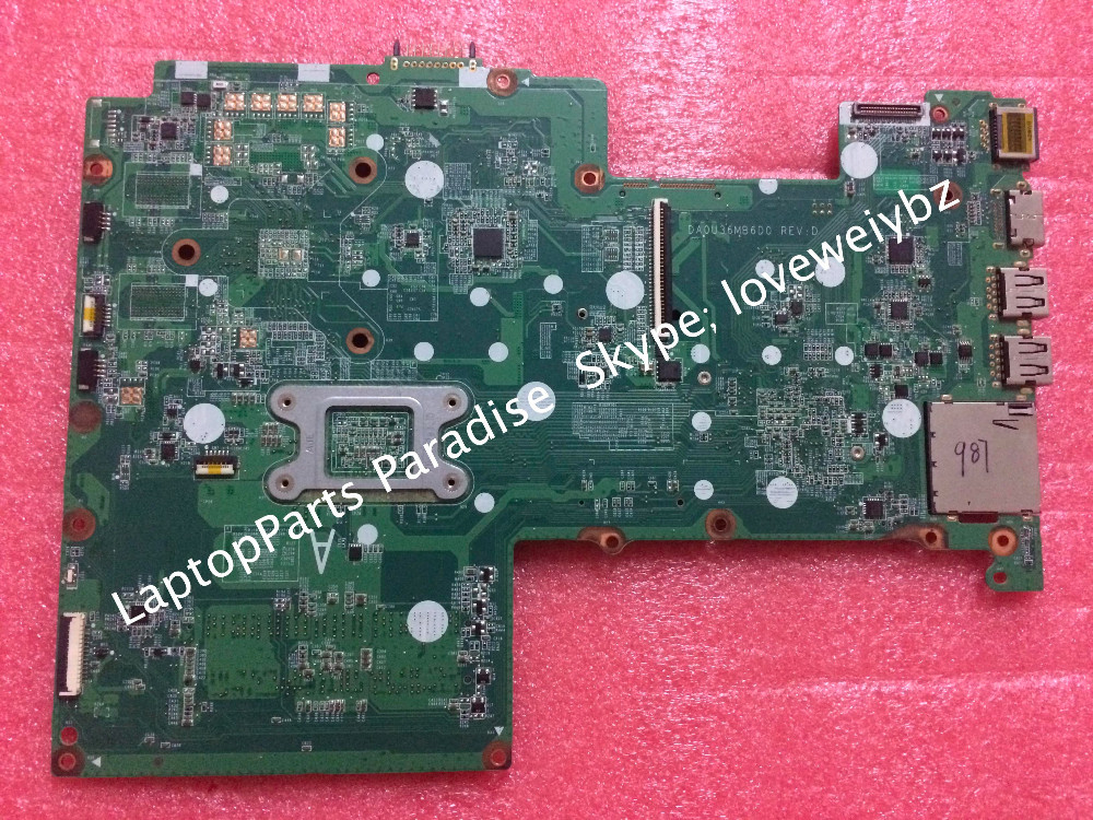 Free Shipping DA0U36MB6D0 Rev:D Mainboard for P avilion 15 Motherboard 712793-501 with Intel Pentium 2117U SR0VQ cpu(China (Mainland))