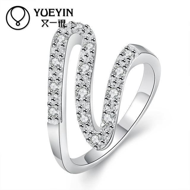 Новое прибытие модные круглые стиль женщины 100% чистого серебра ювелирные изделия ...