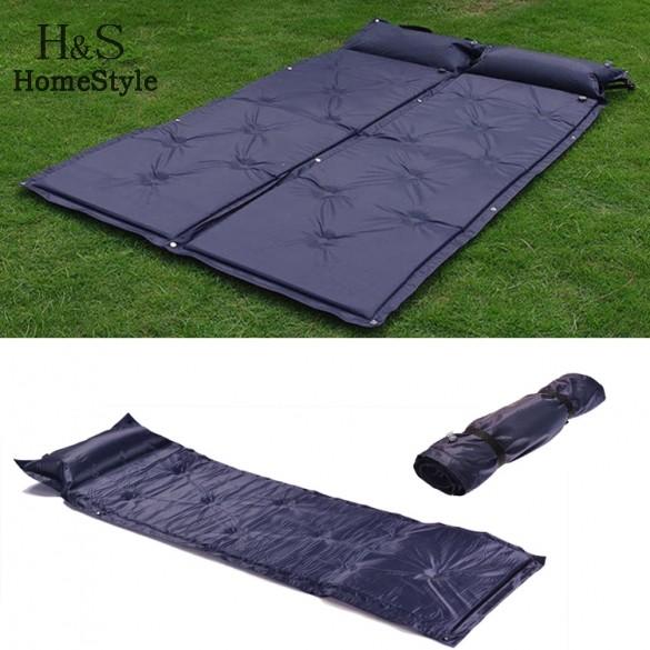 High Quality Self Inflating Sleeping Mat Sofa Bed Air Mattress Camping Inflatable Mattress Waterproof Beach Mat(China (Mainland))
