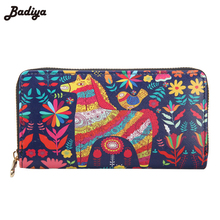 Buy New Arrive Cute Graffiti Students Long Wallet Purse Womens Card Holder Pocket Fashion Credit Card Holder Wallet Women for $6.89 in AliExpress store