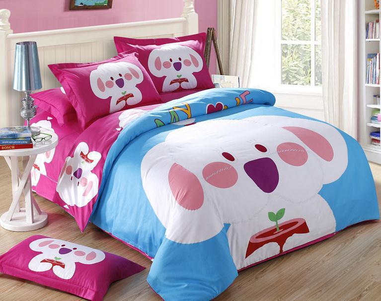 panda couette ensemble promotion achetez des panda couette. Black Bedroom Furniture Sets. Home Design Ideas