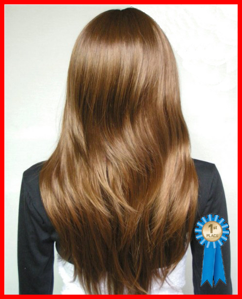 High quality,26inch 195G Synthetic Hair,Fashion Full wigs,color #6/30 gold brown,free shipping