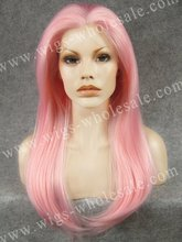 Qingdao Nicole Richie Long Straight Drag Queens Cosplay Synthetic Lace Front Wig