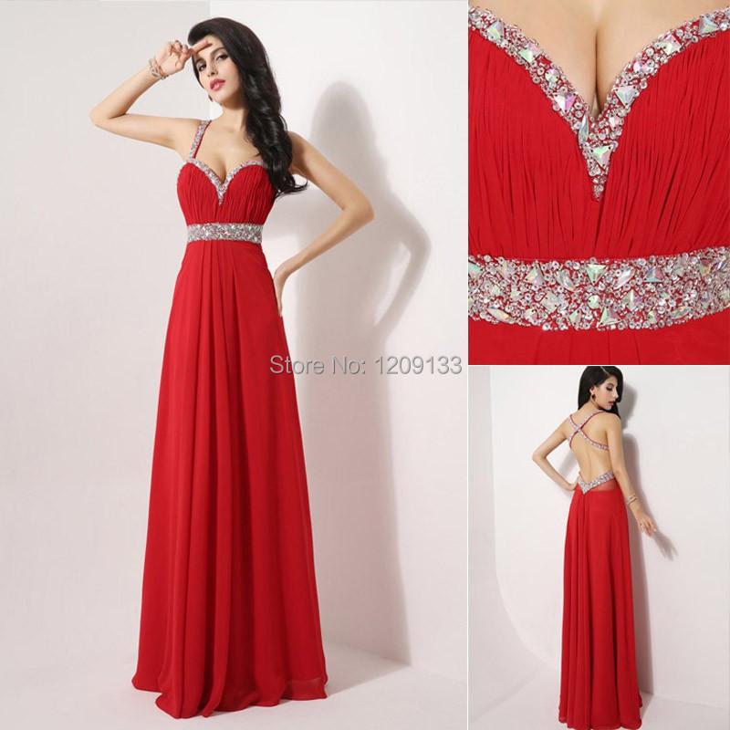 Красное платье на выпускной платье