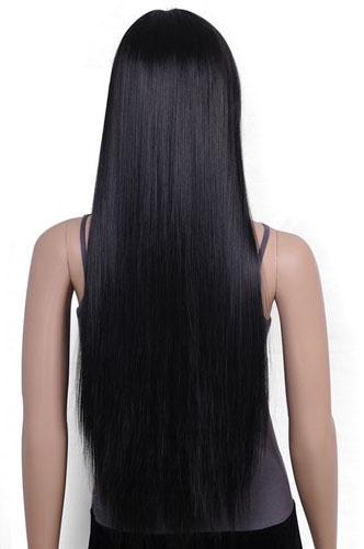 Mongolian straight human hair extensions virgin Mongolian hair weaves natural black 3pcs lot 100g/pc 8-30 inch<br><br>Aliexpress