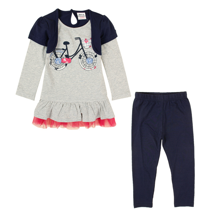 children winter set NOVA baby kids girls wear clothing dress pants causal HG4820