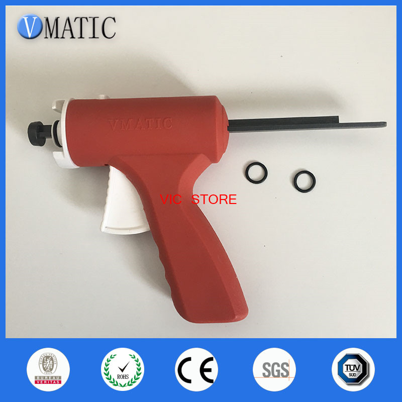 High quality UV Syringe Dispenser Gun Glue gun liquid optical clear adhesive gun 10CC