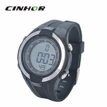 Multifuncional reloj Digital del deporte para hombre y mujeres con Monitor de ritmo cardíaco reloj con cinturón de pecho elástica