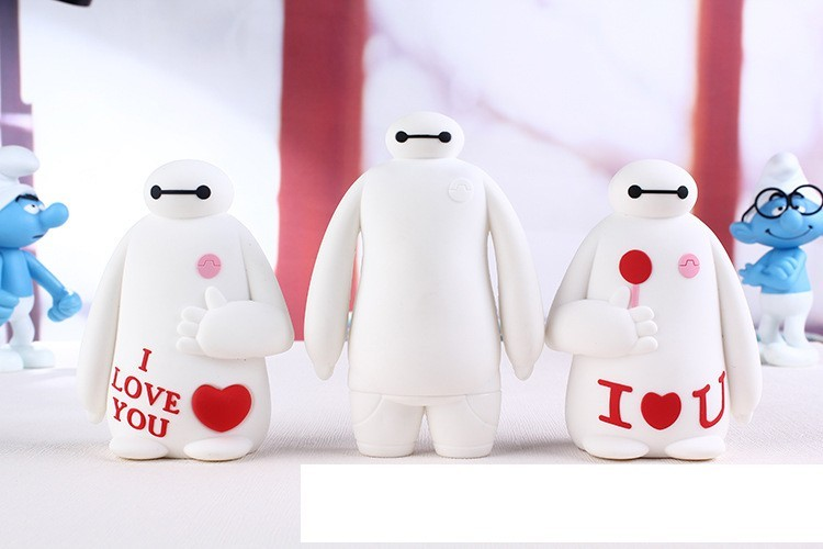 new pattern Luxury Baymax Power Bank 8800mAh High Quality portable battery charger For iphone6 5 5s IOS Android phones