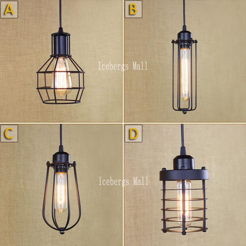 Kooi lamp promotie winkel voor promoties kooi lamp op - Licht industriele vintage ...