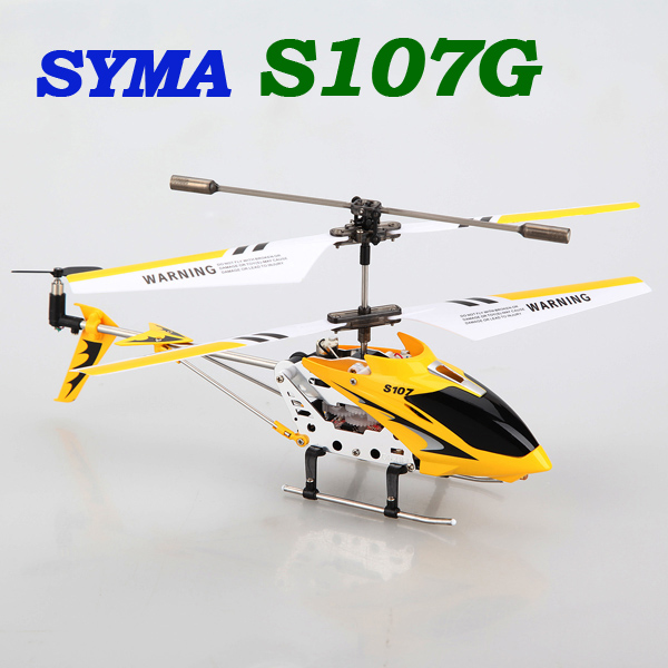 Hot Sale Syma S107g 3 5 Channel Mini Indoor Co Axial Metal RC Helicopter Built in