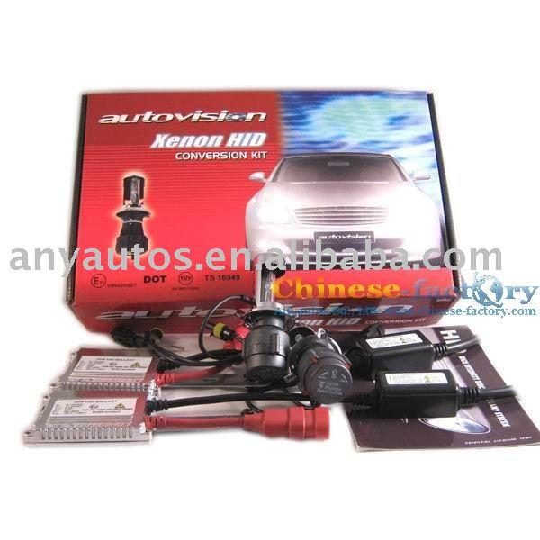 Deluxe Digital Slim Ballast+Patent Bulb +bracket HID XENON KIT Telescopic H4 H/L(China (Mainland))