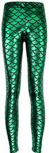 wholelsales Summer style women's Scale leggings 10 color S-XL size Simulation mermaid sexy pants Digital print colorful leggings(China (Mainland))