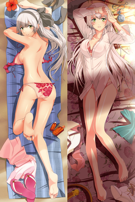 God Eater Alisa Otaku Japanese Anime Dakimakura Hugging Pillow Case Cover G038