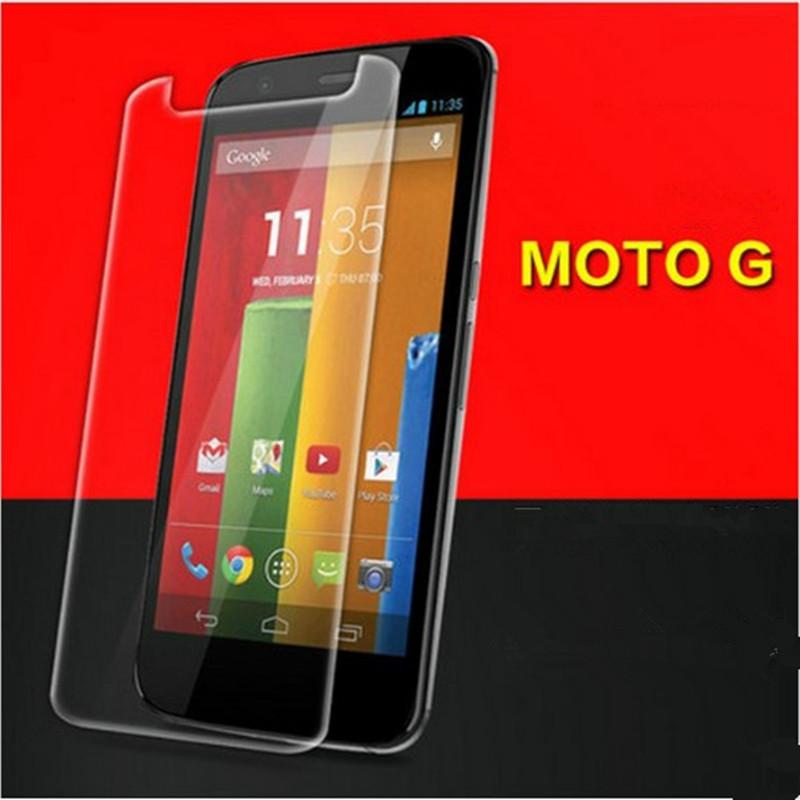 New 9H Edge original Premium Tempered Glass Film For Motorola Moto G G1 XT1028 XT1032 XT1031 Screen Protector,1pc(China (Mainland))