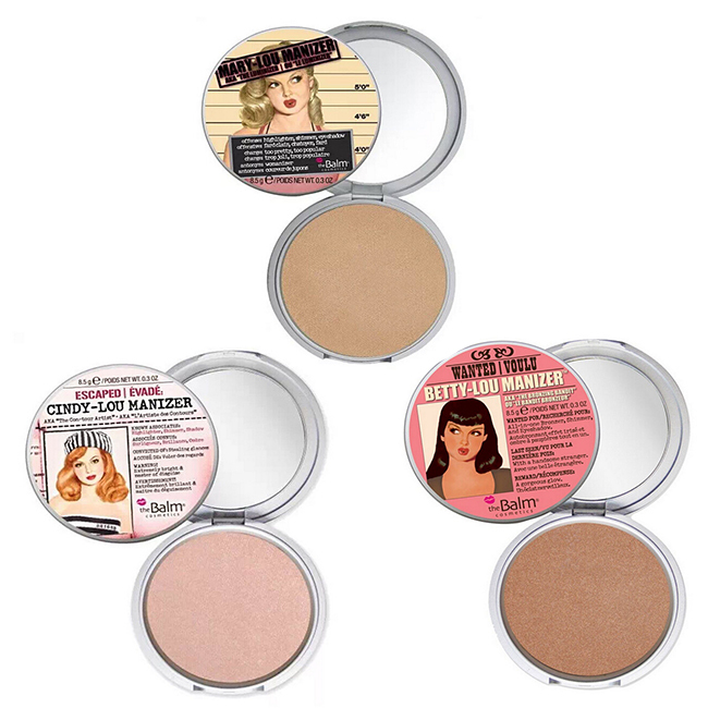 The Balm Makeup Studio Fix Mineral Pressed Powder Foundation Brand Palette Compact Mary / Betty / Cindy Manizer Cosmetic Face(China (Mainland))
