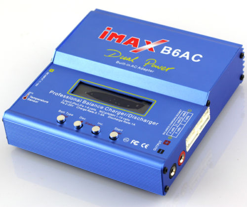 iMAX B6AC Lipo NiMH Battery Balance Charger Dischager Built-in AC Adapter T Plug<br><br>Aliexpress
